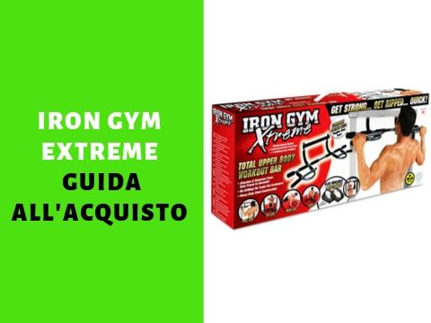 Barra Iron Gym Extreme